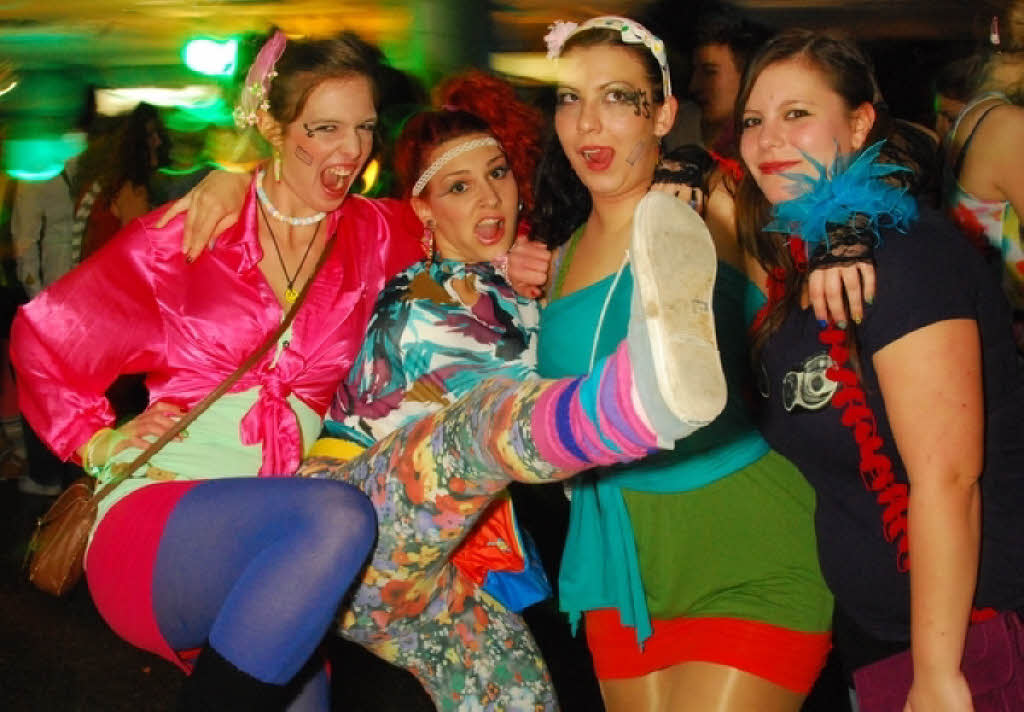 80er Mottoparty Was Anziehen Fotos: Bad Taste-party In Der Mensa Institutsviertel