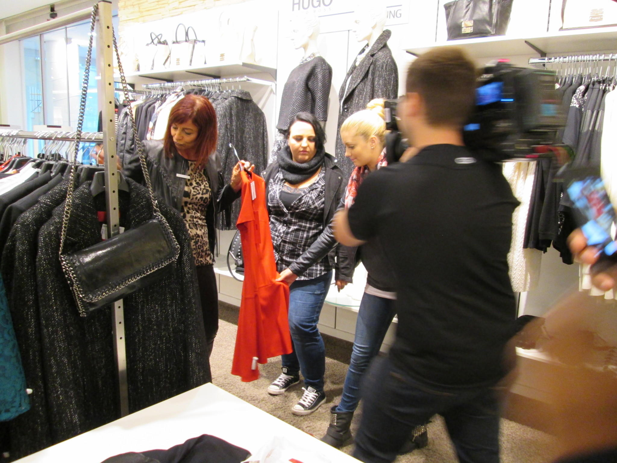 Augsburg Shopping Exklusive Backstage Bilder Der Quotshopping Queen Quot Woche In