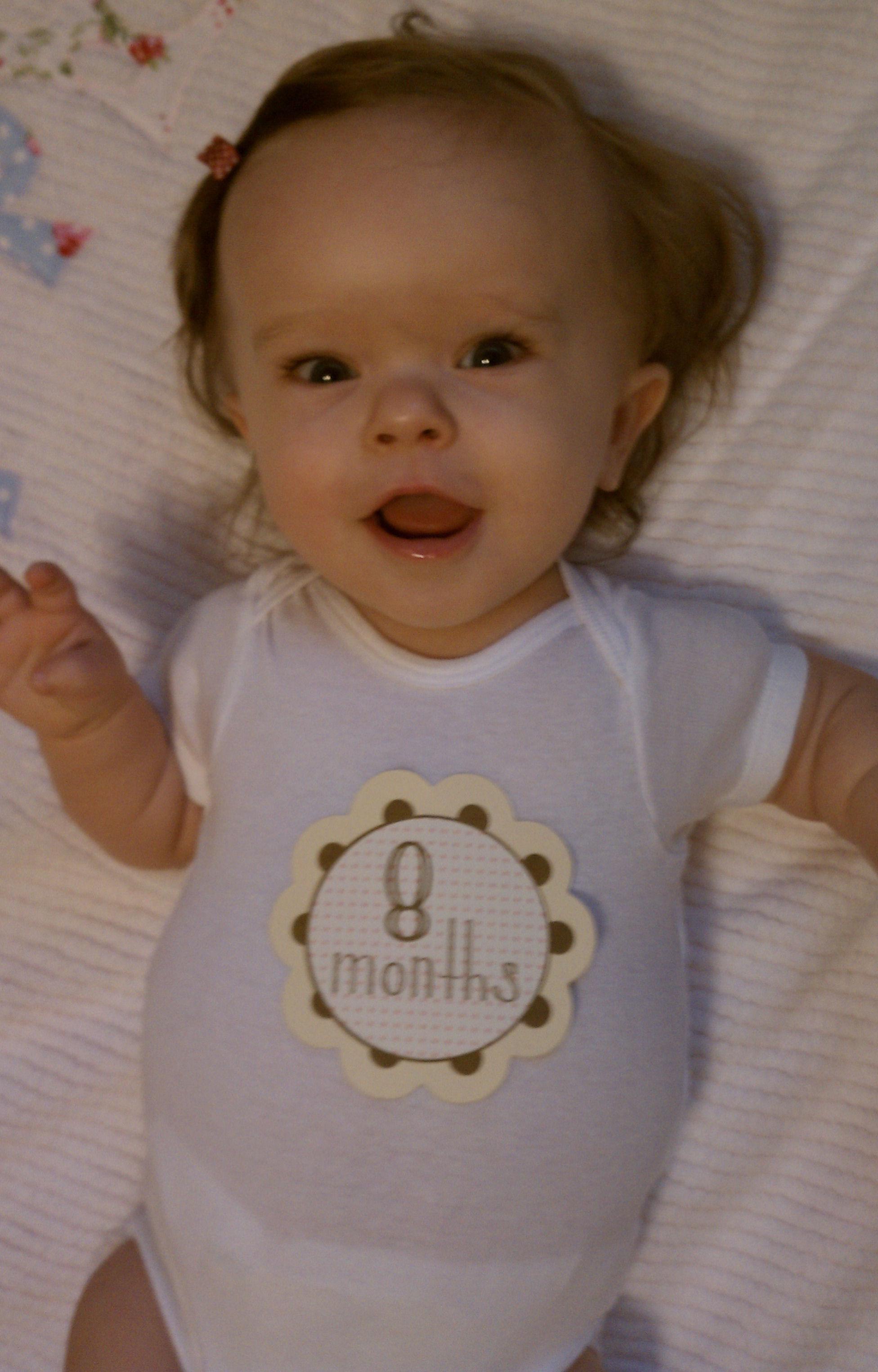 8 month Addie