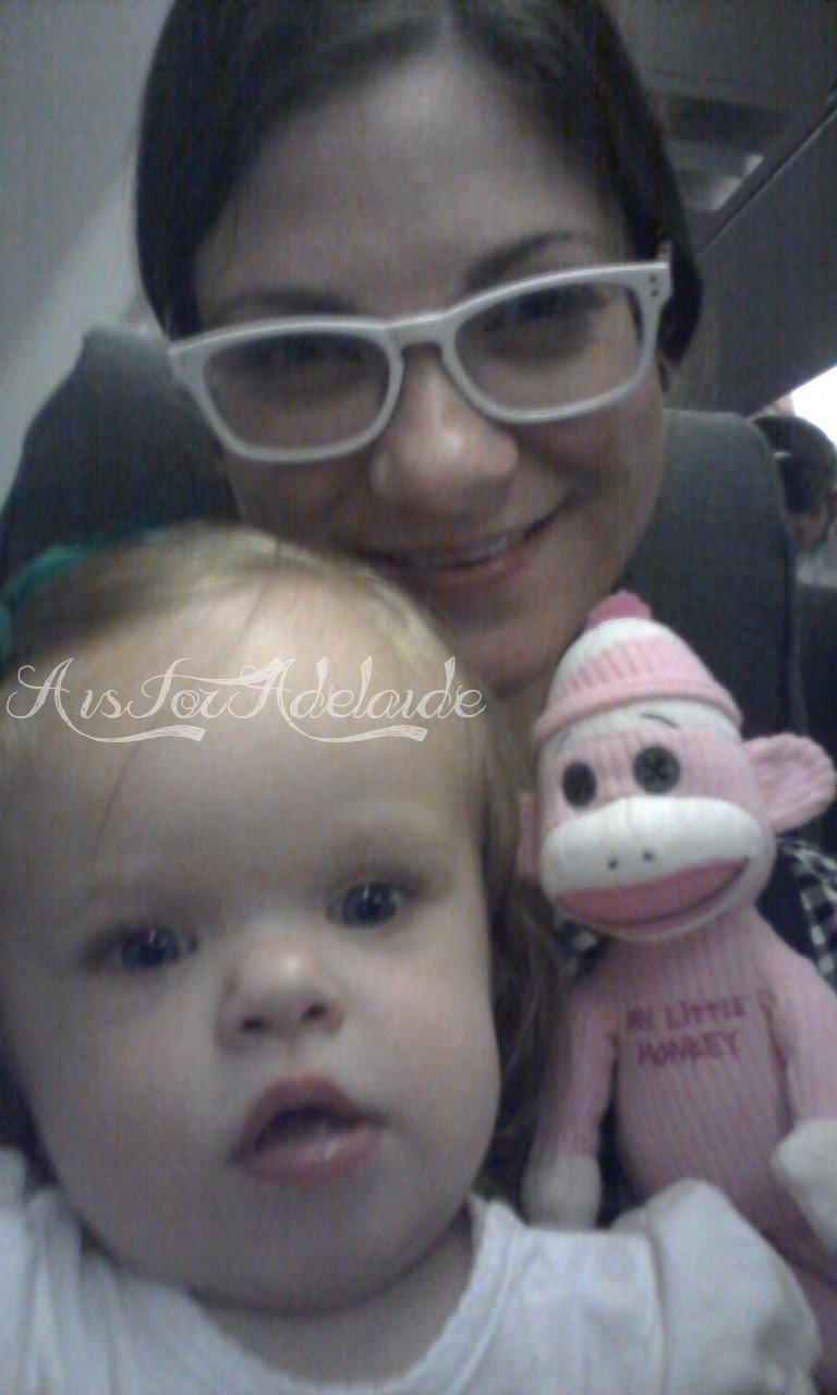 We all landed safely! Even Buttons, the monkey!