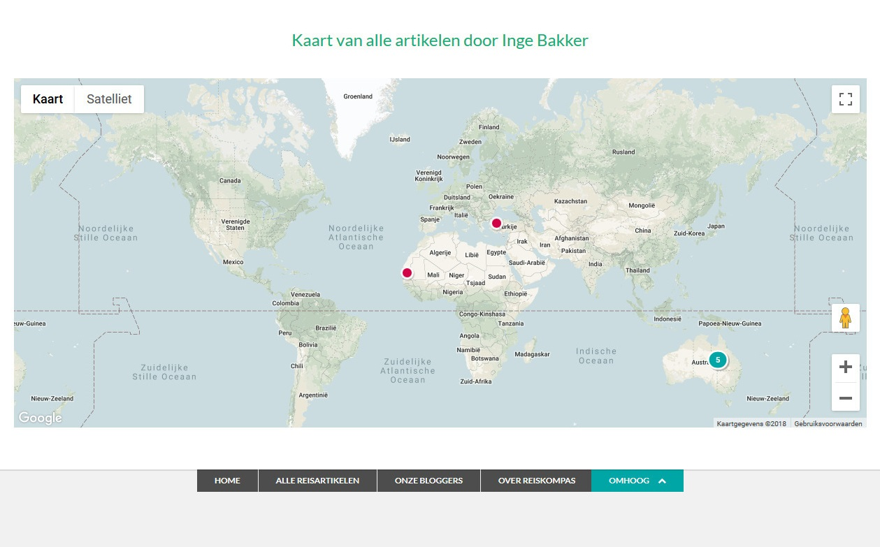 Travel Blog With Map How To Start A Travel Blog That Looks Like Reiskompas Case