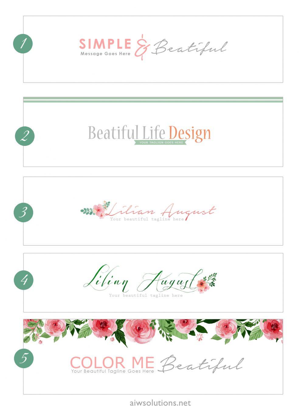 header design cv