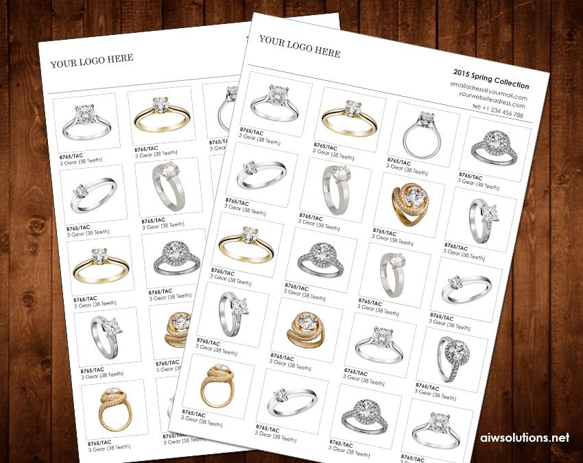 custom catalog, custom line sheet, line sheet design template, how