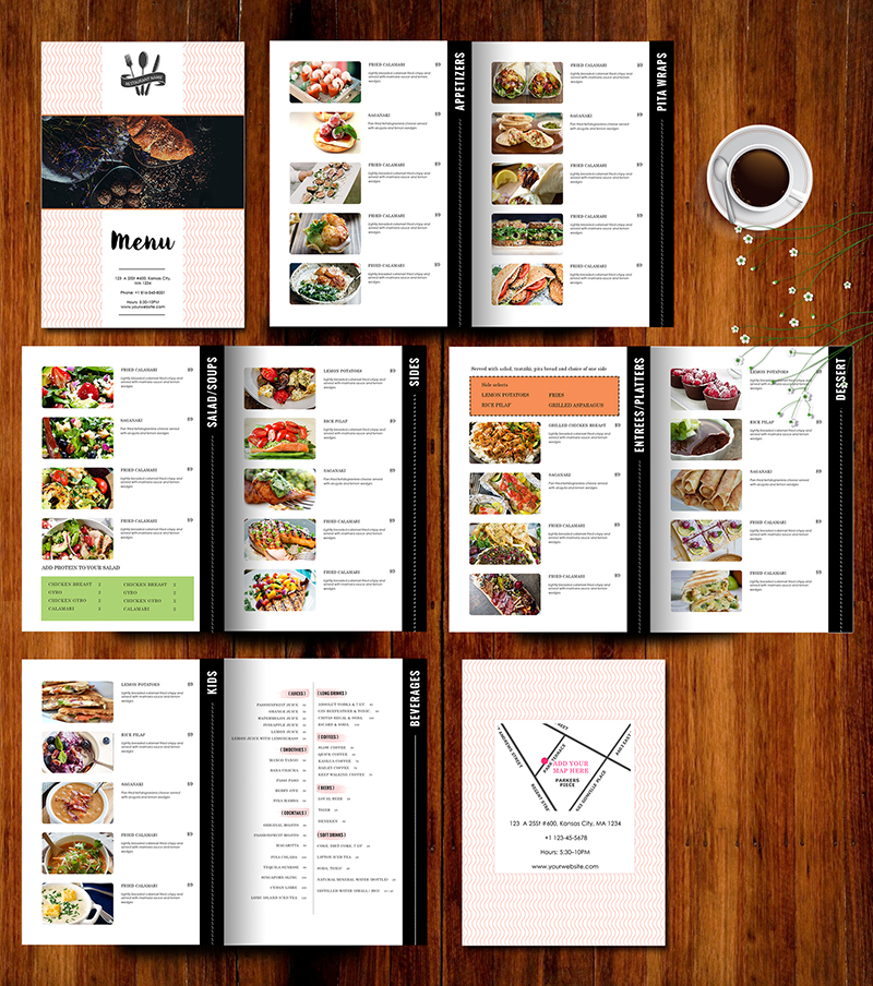 Design  Templates, Menu Templates ,Wedding Menu , Food Menu ,bar