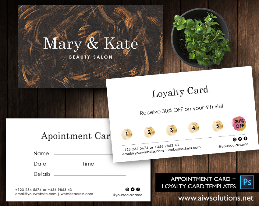Appointment/Loyalty/Gift cards \u2013 aiwsolutions