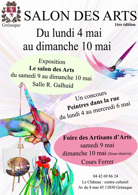 Salon Des Arts Du 4 Au 10 Mai 2015 Gréasque