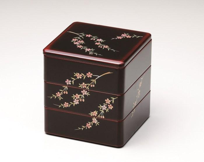 会津塗 重箱