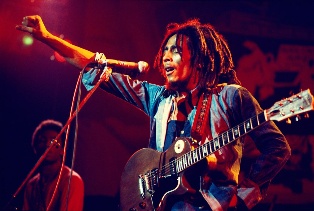 Bob Marley live at Lyceum in London
