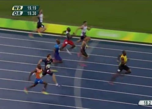 Jamaican Usain Bolt