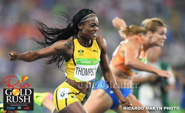 Elaine Thompson 200m win fought to the end.