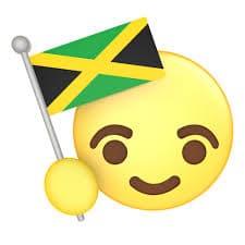 Jamaican Flag Emoji