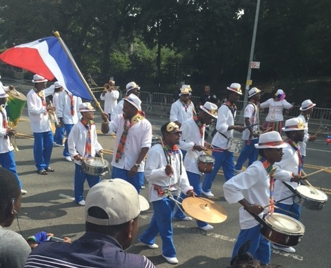 West Indian Caribbean Labor Day Parade colorful Tee Shirts