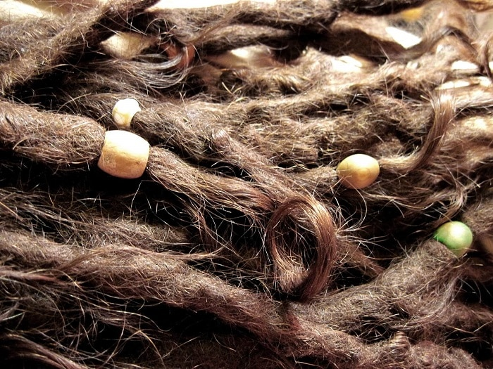 natural dreadlocks and accessories