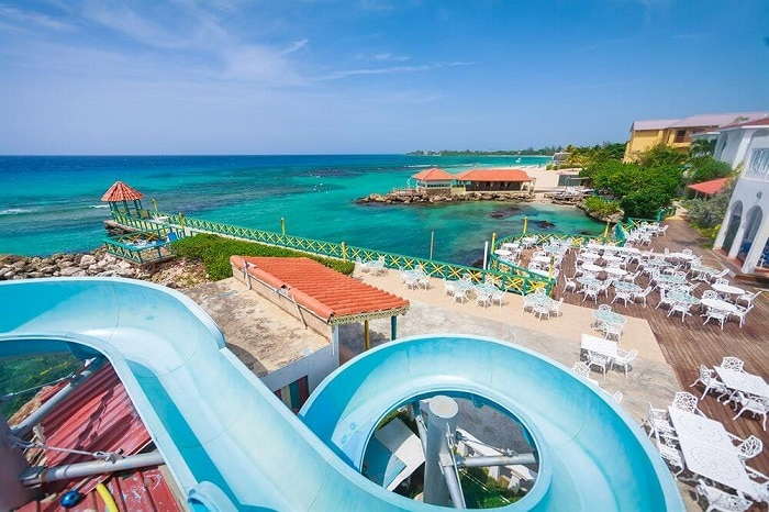 franklyn d resort and spa waterslide