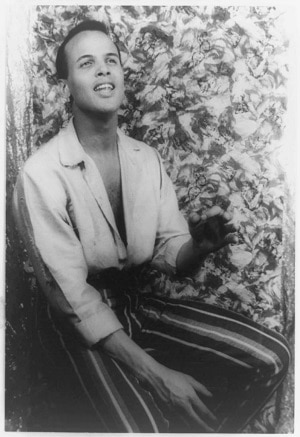 harry belafonte as a young musician