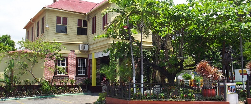 visiting the Bob Marley Museum, one of the best things to do in Kingston Jamaica
