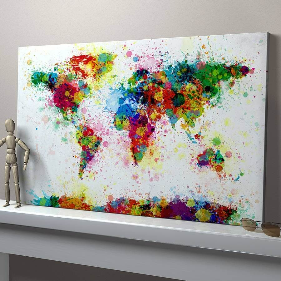 Bild Auf Wand Malen 50+ Best Easy Painting Ideas For Wall Beginners And Canvas