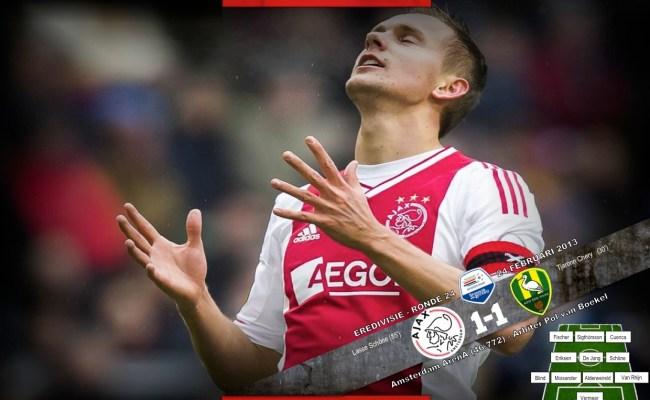 Eredivisie Afc Ajax 1 1 Ado Den Haag Wij Zijn Ajax