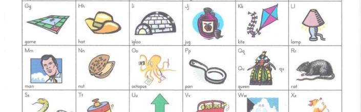 Yesterday's Alphabet