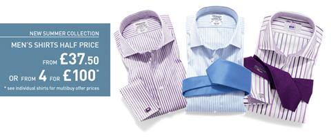 T.M. Lewin shirts