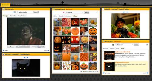 Halloween Theme at Netvibes