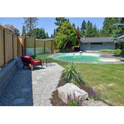 Cosmopolitan This South Olympia Side Transformation Ajb Landscaping Fence Garden Wall Fence Brick Garden Wall Fence Ajb Landscaping Fence Removed An Aging Fence Bamboo It