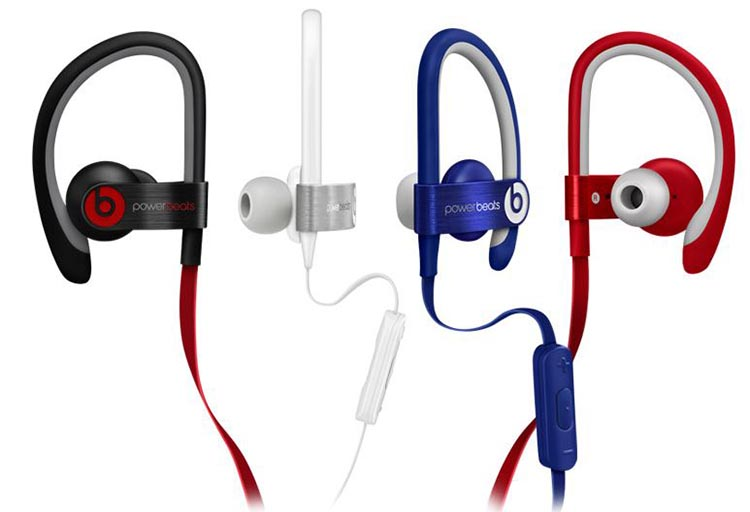 The hooks on the Beats Powerbeats 2 ensure that they never fall out of your ears - beats by Dr Dre - Beats by Dr Dre Powerbeats 2 vs Jaybird X2
