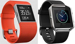 Compare the Fitbit Blaze vs. Surge