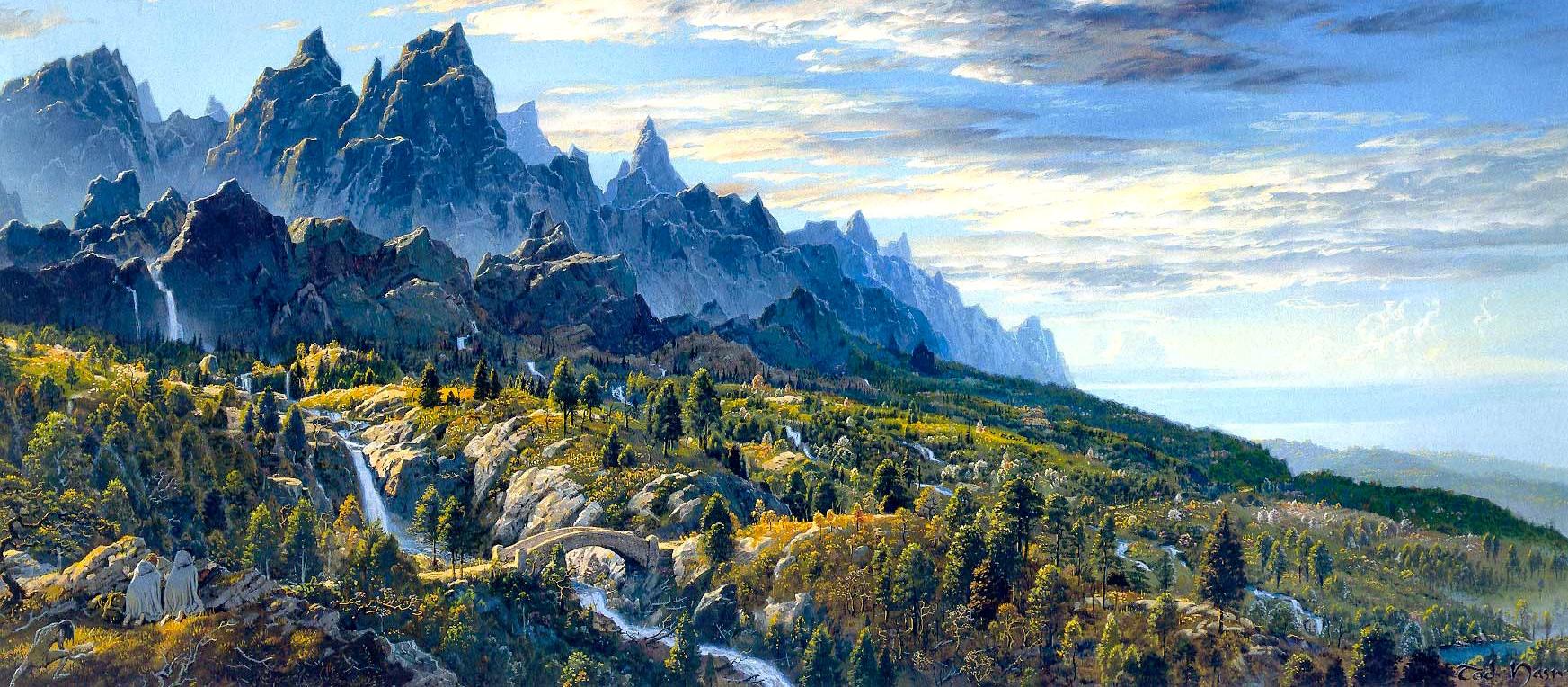 Lotr Fall Wallpaper Lewis Amp Tolkien Friendship A J Carlisle