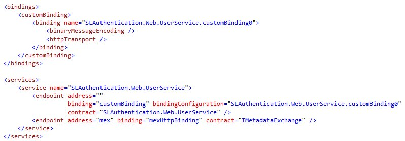 Silverlight and Integrated Authentication (1/6)