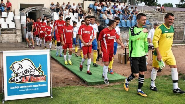 Razvan Burleanu vine la sarbatoarea fotbalului vrancean