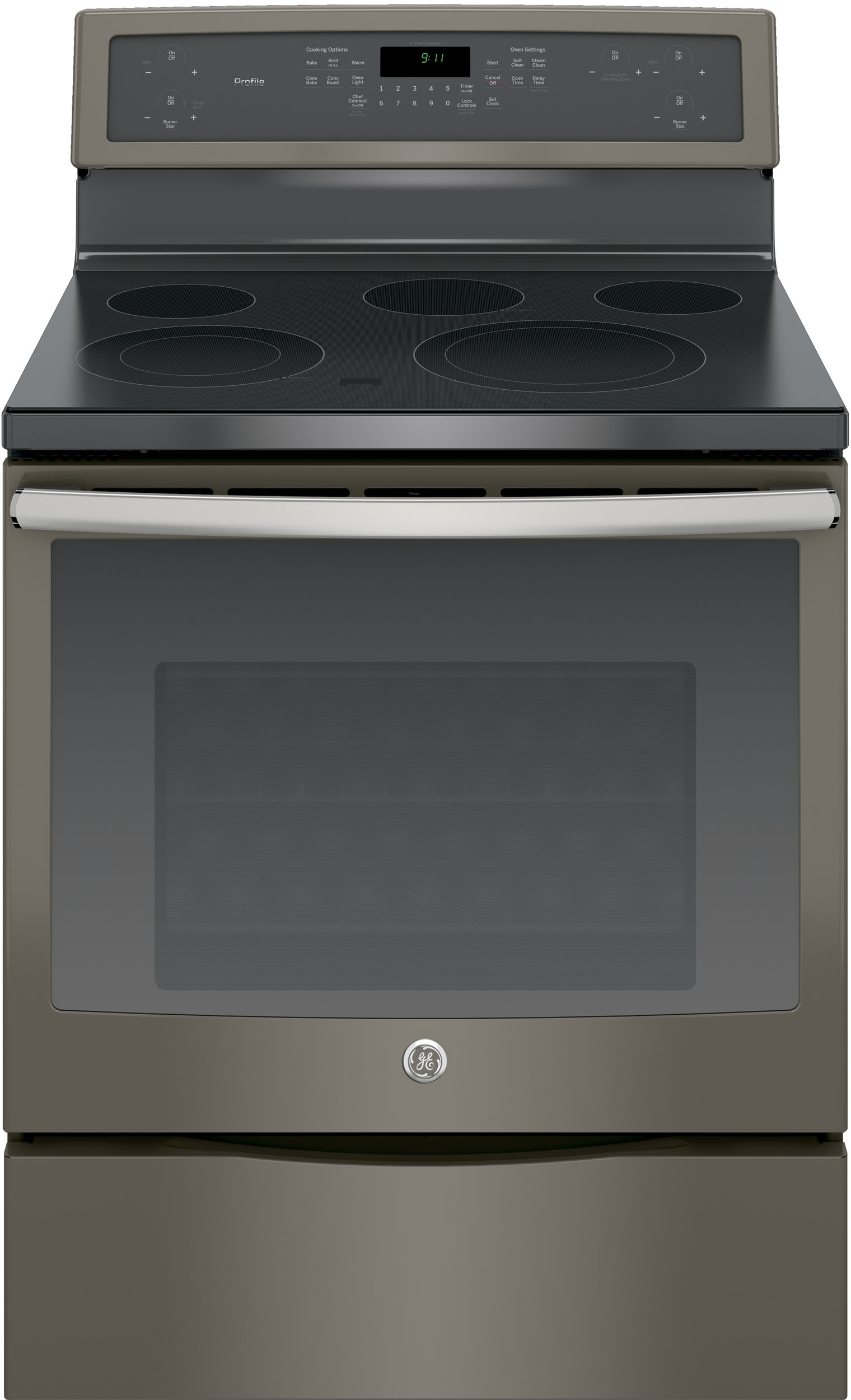 Countertop Warming Drawer Ge Pb911ejes 30 Inch Freestanding Electric Range With 5