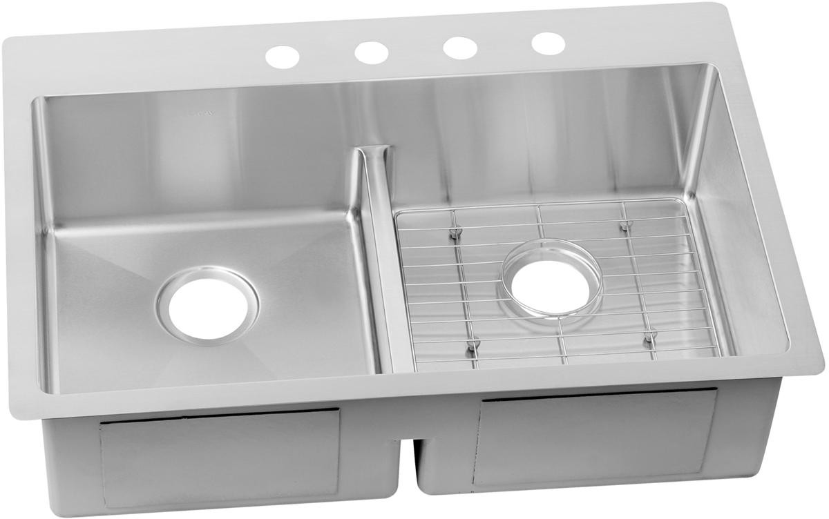 Kitchen Sink For 18 Cabinet Elkay Crosstown Collection Ectsra33229tbg0