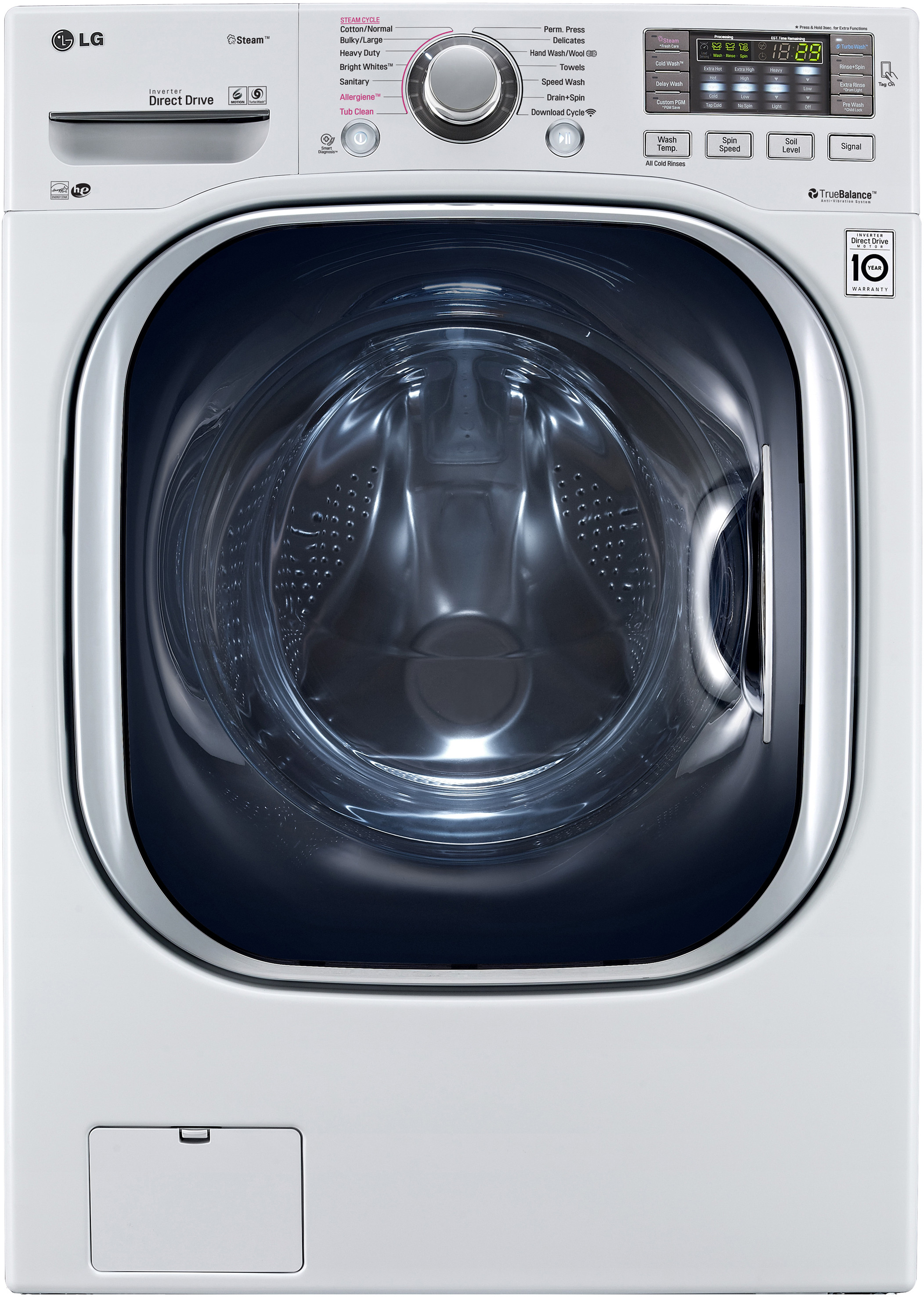 New Washer And Dryer Lg Wm4370hwa