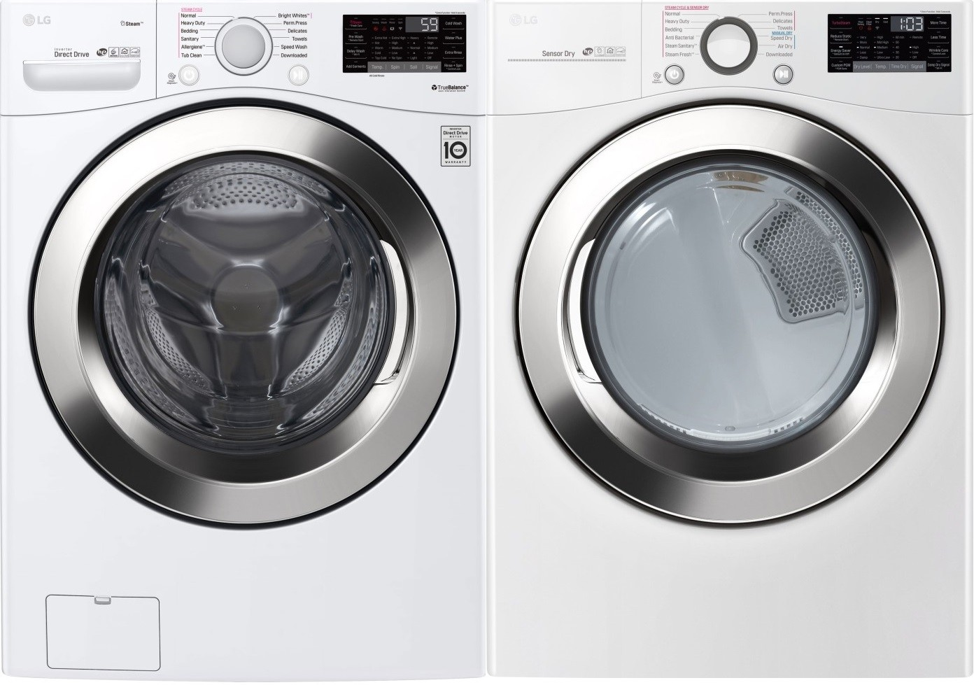 Washer And Dryer Calgary Lg Side By Side Washer Dryer Set