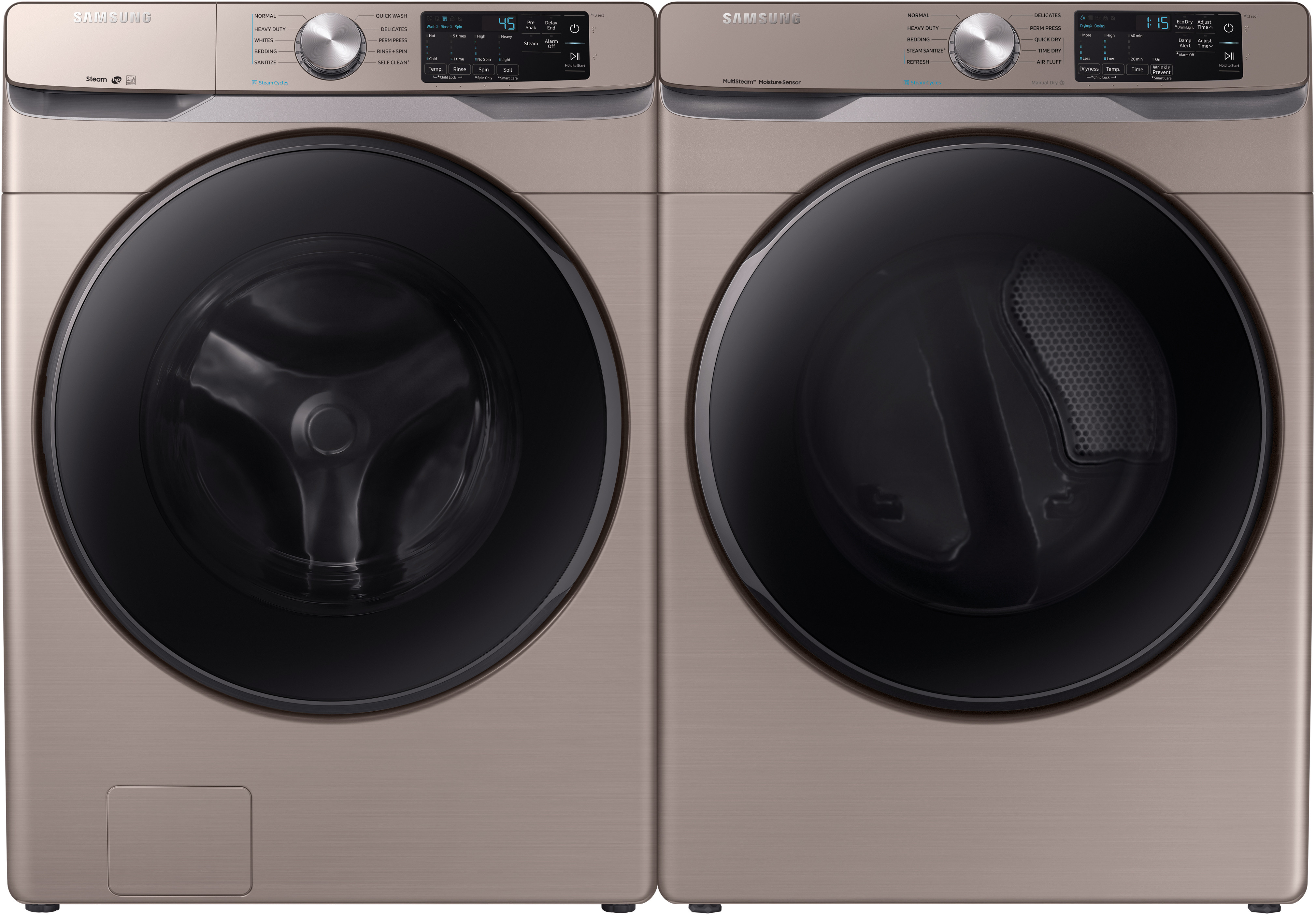 Appliances Packages Sale Samsung Side By Side Washer Dryer Set