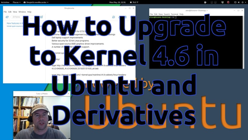 How to Upgrade to Kernel 4.6 in Ubuntu and Derivatives