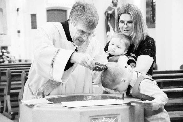 Christening, Our Lady of Angels Church Nuneaton , AJTImages