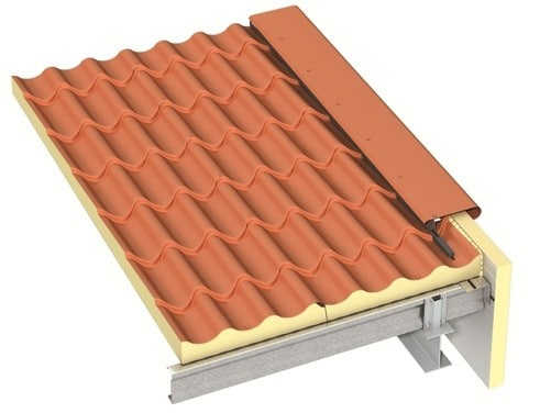 Isolatieplaten Slaapkamer Prefab Dakplaten | Roof Tile Ks1000 Rt - Ajw Distribution