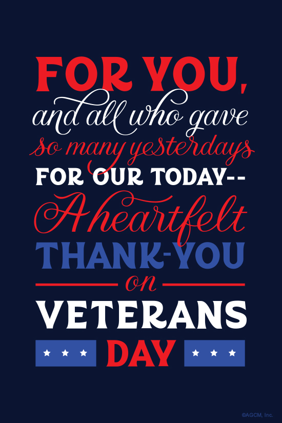 Veterans Day Poem\