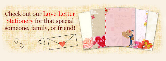 Printable Love Letter Templates  Stationery Blue Mountain - love templates