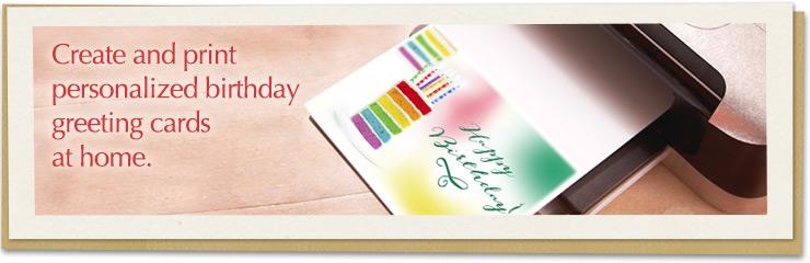 Print At Home Birthday Cards \u2013 gangcraftnet