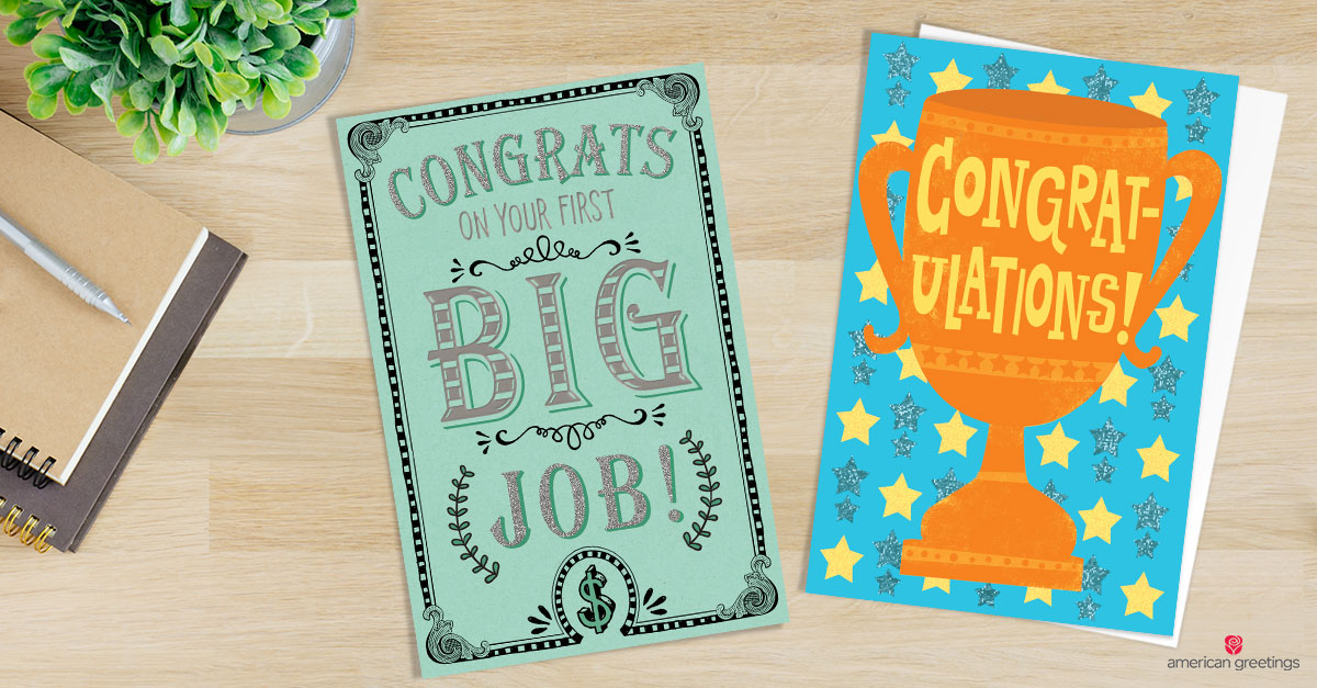 Congratulations Messages for New Job - American Greetings