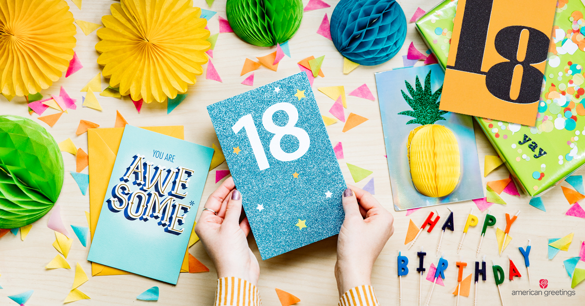 What to Write in an 18th Birthday Card - American Greetings