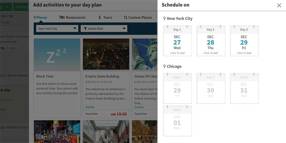 Itinerary Planner Vacation Planner Plan a Trip Travel Planner - how to create a agenda