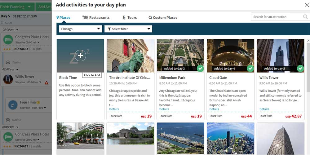 Itinerary Planner Plan a Trip Trip Planner Travel Planner - sample schedules sample schedule