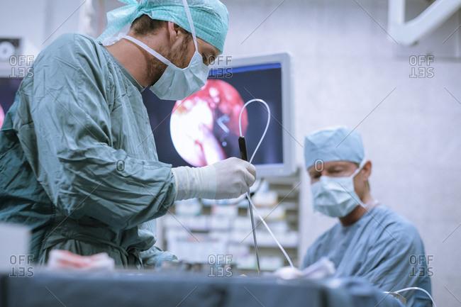 surgical nurse stock photos - OFFSET