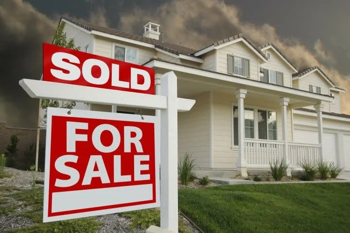 Sold Home for Sale Sign Stock Footage Video (100 Royalty-free