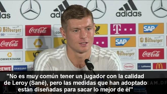 Uefa Nations League Kroos Believes That Sane Needs To