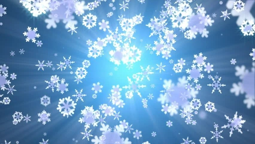 Animated Falling Snow Wallpaper Snow Falling Animated Abstract Background Stock Footage